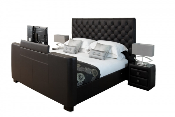 Tv bed l a - Chocolade nachtkastje ...